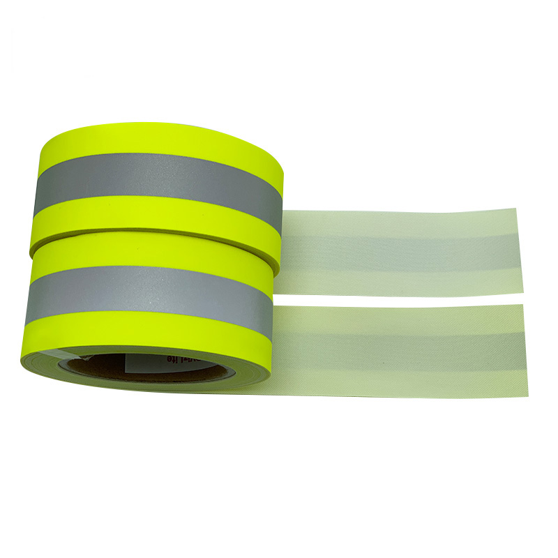 HF505 100%cotton high visible colorful flame retardant reflective fabric 400cd/(lx·m²)