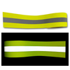 HF506 100%M-aramid high visible colorful flame retardant reflective fabric 400cd/(lx·m²)
